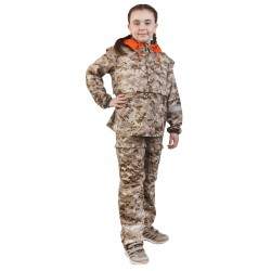 Детский костюм Биостоп для младшей школьной группы (песочный камуфляж)
